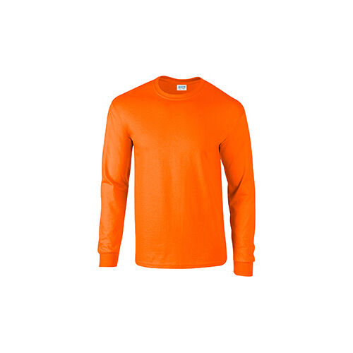 Big 3XL 4XL 5XL Long Sleeve T-Shirt Gildan Tee Big Men/'s Ultra Cotton 17 COLORS
