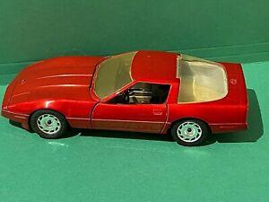 1987-Majorette-Die-Cast-1-24-Red-Chevrolet-Corvette