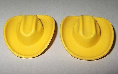 207524 Sombrero vaquero alto negro 2u Playmobil,western,oeste,cowboy