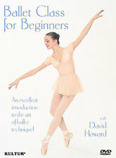 BALLET CLASS FOR BEGINNERS NEW DVD