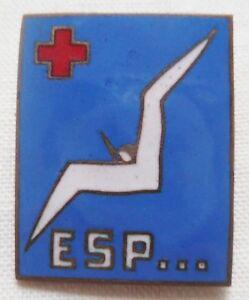 insigne arm e de l 39 air service de sant esp escadrille pilote croix rouge 1940 ebay. Black Bedroom Furniture Sets. Home Design Ideas