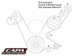 VE-LS-V8-8-Rib-Drive-for-Vortech-Kits-Std-Diameter-Balancer-P-N-VE-VOR-8RIB