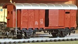 Marklin-echelle-ho-wagon-couvert-ref-4605