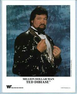 WWE-TED-DIBIASE-P-231-OFFICIAL-LICENSED-AUTHENTIC-ORIGINAL-8X10-PROMO-PHOTO-RARE