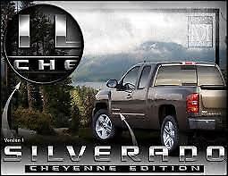"""Chevrolet Silverado """"Cheyenne Edition"""" emblem decal"""