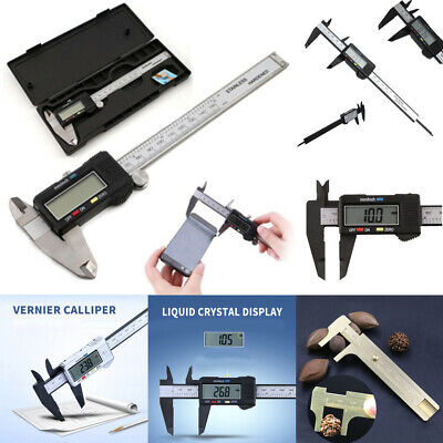 New 150MM Electronic Digital Calipers Veriner with LCD Display Hard Case