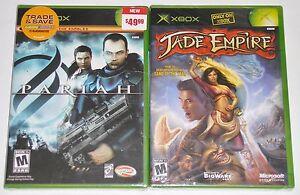 Xbox-Game-Lot-Jade-Empire-New-Pariah-New