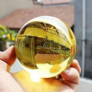 HO-CO-40mm-Golden-Citrine-Ball-Healing-Sphere-Lucky-Meaning-Home-Rome-Decor-Ne