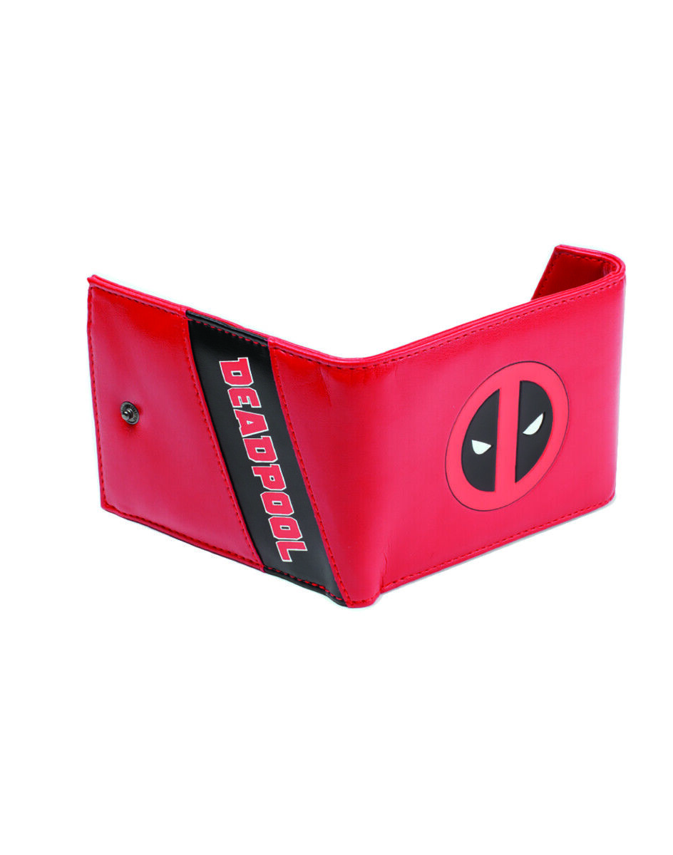 Deadpool Classic Style Guide Wallet Deadpool- Trifold Wallet Red