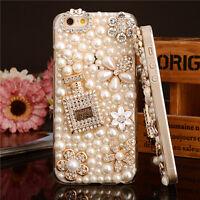 Bling Shine Diamante Shaped Diamond Stones Crystal Luxury Hard Phone Case Cover