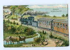 T5685-2260/ Kleinbahn Niebüll - Dagebüll  Eisenbahn AK 1908