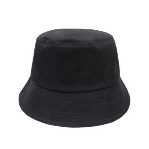 NEW Bucket Hat Flat Hunting Fishing Outdoor Sunscreen Sun Cap 100/% Cotton Unisex