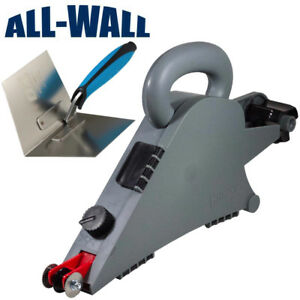 Details about Homax Drywall Remodeler's Banjo Taping Tool Plus Ox Pro  Inside Corner Trowel