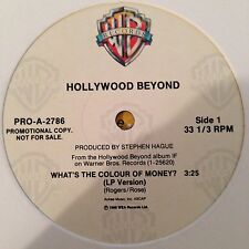 "Hollywood Beyond-What's the colour of money?-12""-Promo"