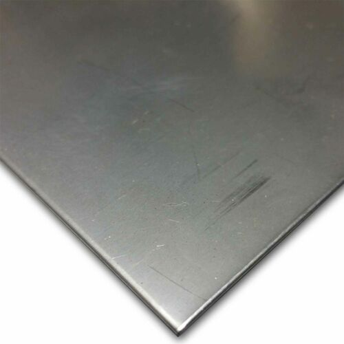 """Stainless Steel Sheet 0.024/"""" 304 2B, Bright Cold Rolled x 24/"""" x 24/"""" 24 ga."""