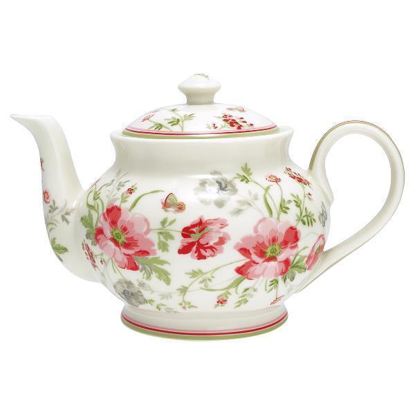100% autentico verdegate Teiera Teapot Meadow with e Shabby Vintage Nostalgia Landhaus Landhaus Landhaus Cucina  Felice shopping
