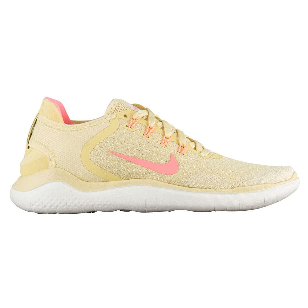c939d1d4c Nike Free RN RN RN 2018 Summer Womens AO1911-700 Lemon Wash Running shoes  Size