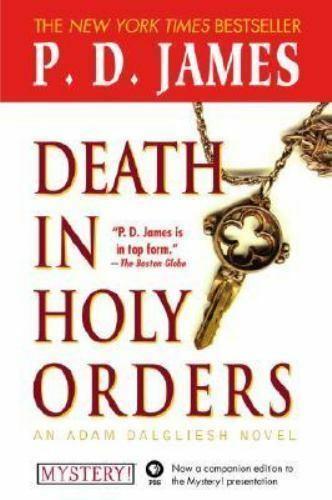 Death In Holy Orders Adam Dalgliesh Mystery Series 11 P. D. James Paperback  - $5.89