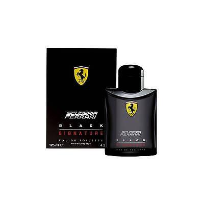 Ferrari Scuderia Black Signature 125 ML Men EDT Perfume