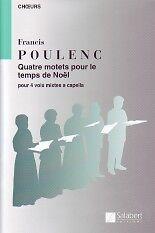 POULENC-CHRISTMAS-MOTETS-4-COMPLETE-satb