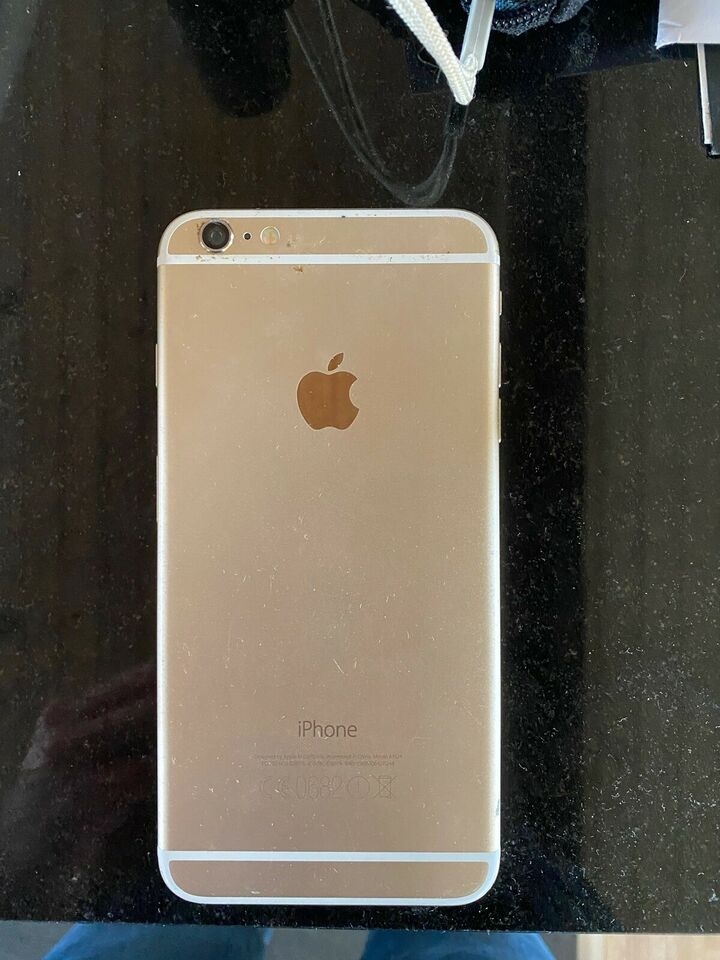 iPhone 6 Plus, 64 GB, guld