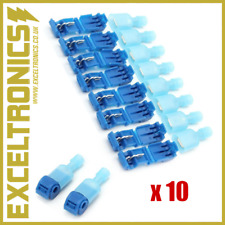 10 X Electrical Cable Connectors Waterproof Safety Wire Terminal Quick Clip