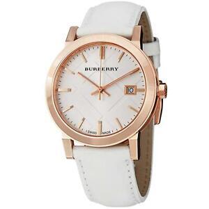Burberry-BU9012-Check-White-Leather-Strap-Womens-Watch