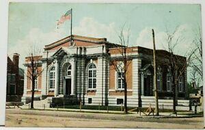 Kankakee-Illinois-Post-Office-1907-to-Forest-Park-Postcard-I4