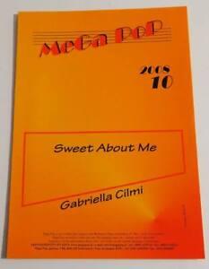 Partition sheet music GABRIELLA CILMI : Sweet About Me * 2008 EX ! - France - Type: Partition Genre musical: Variété internationale Instrument: Chant, Piano Artiste: Gabriella CILMI - France