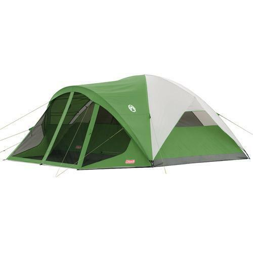 CAMPING TENTS EQUIPMENT SUPPLIES OUTDOOR GEAR BIG FAMILY TENT COLEMAN TENTS