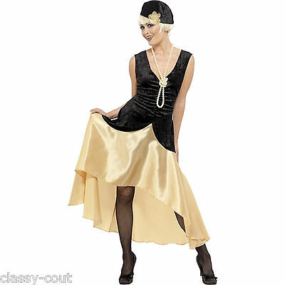 1920's Gatsby Girl Flapper Dress Costume - Sz 12,14,16,18,20,22 Plus Size