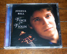 CD: Joshua Bell - Voice of the Violin 2006 Sony Classical Barnes Noble Exclusive