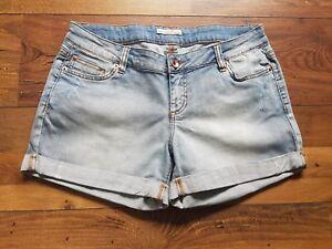 57bc12eaa15a1d Das Bild wird geladen TOM-TAILOR-DENIM-Damen-Shorts-kurze-Jeans-Hotpants-