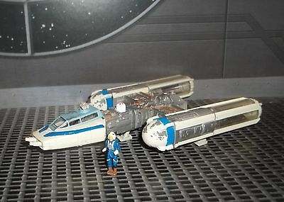 Star Wars Action Fleet Blue Leader Y Wing Fighter Squadron Colors Variant 47246669974 Ebay