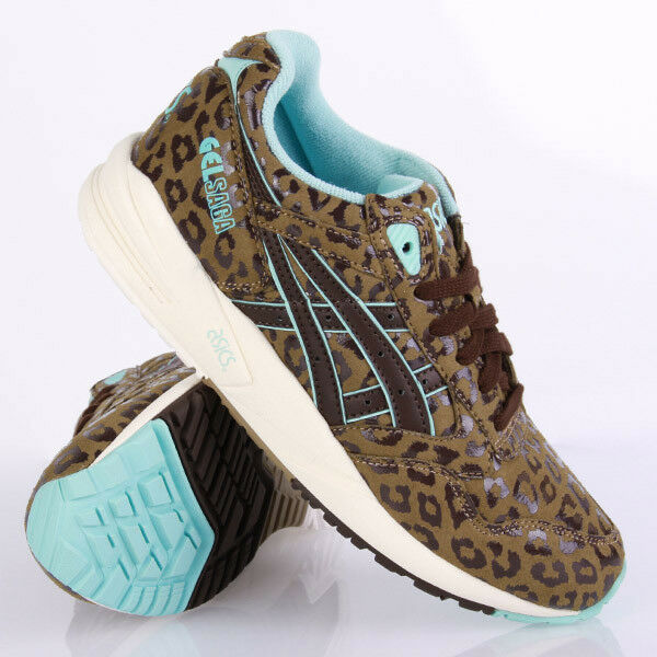 Asics Gel Saga Light Brown Dark Brown Schuhe Sneaker Braun