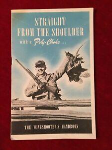 Ensoleillé Tout Droit Forme The Shoulder Avec Un Poly-starter: 1950 Wingshooter's Handbook-afficher Le Titre D'origine