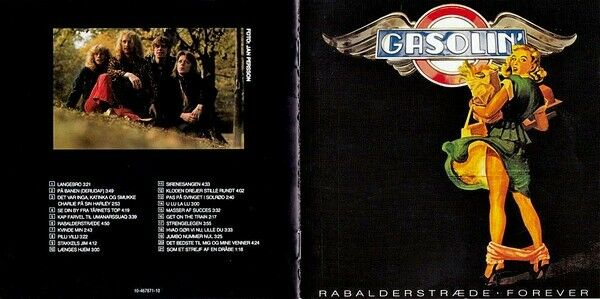 Gasolin': Rabalderstræde Forever, rock