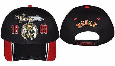 NOBLE SHRINER MASONIC BASEBALL CAP FREEMASON MYSTIC SHRINER BASEBALL CAP #1