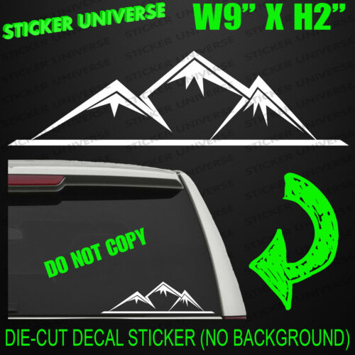 MOUNTAIN TOPS Window Decal Bumper Sticker 4x4 Off Road Jeep Truck Outdoors 0118