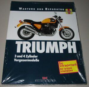 Reparaturanleitung Triumph 3 Reparatur! 4 Zylinder Vergaser Modelle Wartung