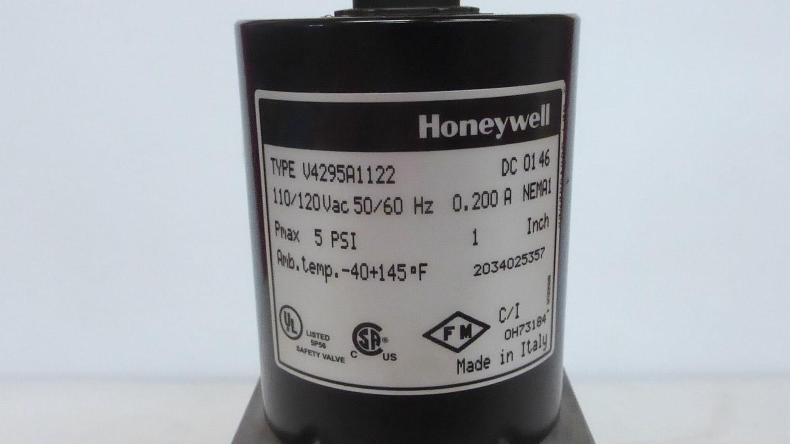 Inc 610 CFH V4295A1114 3//4 inch Solenoid Gas Valve Honeywell