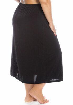 Satin Waist Slip Under Skirt Plus Size Extra Large XXXL All Woman Silky