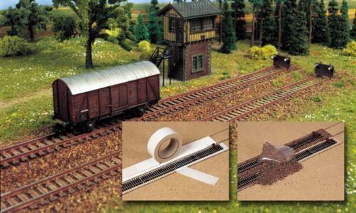 du Gravier - Ballast-Set NEUF Busch 7091 Piste N
