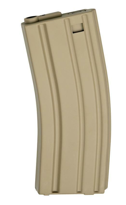 Armalite Airsoft Typ 4 Mid-Cap 85rd Airsoft Mid Cap Mag Tan X 10 Für 6mm Bb's