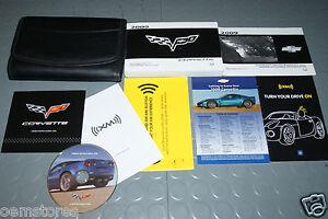 2009 chevrolet corvette owners manual set ebay rh ebay com 2008 corvette owners manual download 2008 corvette owners manual download