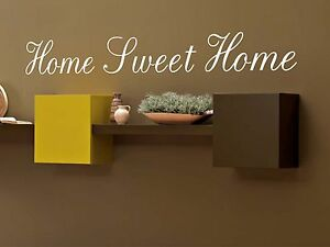 Home-Sweet-Home-wall-quote-sticker-vinyl-wall-decals-mural-art-living-room-decor