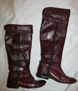 c4708847132 FRYE OVER THE KNEE OTK RIDING PAIGE clover tab ox blood hinge ...