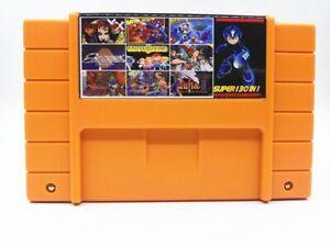 Super 130 in 1 Game 16 Bit for N SNES Multi Cart Game Cartridge NTSC US