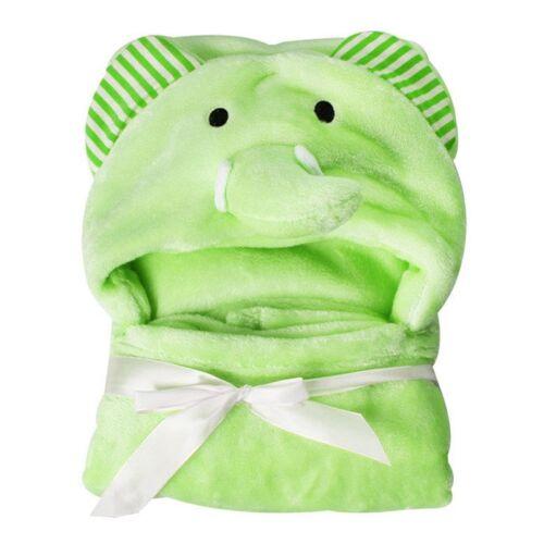 Kleinkind Baby Mädchen Junge Tier mit Kapuze Decke Bademantel Flanell KER Bekk