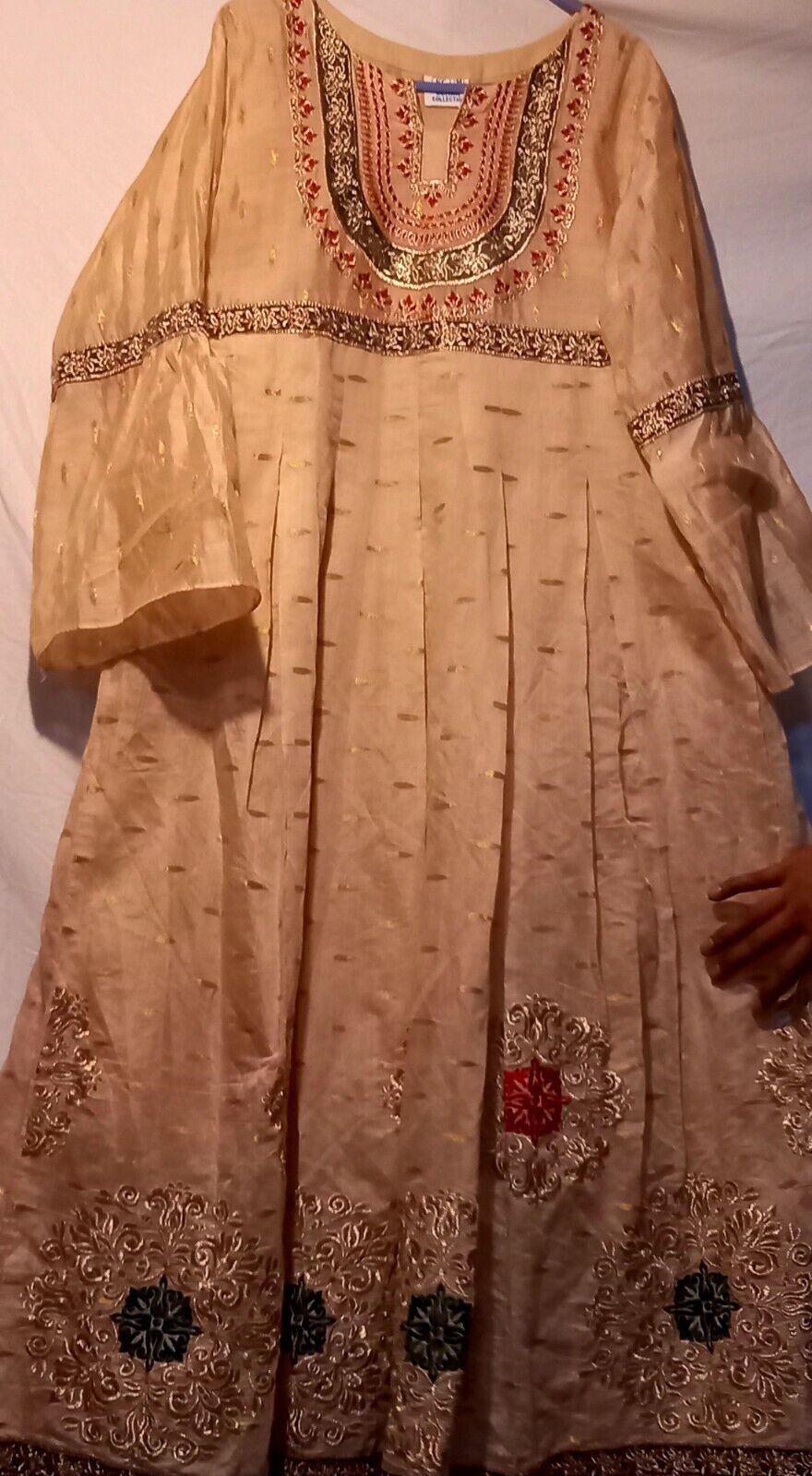 Indian / Pakistani 💯Authentic Designer Full Maxi / Festive Dress